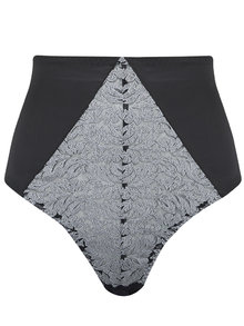 Masquerade High Waisted Brazilian Knicker