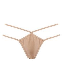Coco de Mer Sylph Thong Nude 36681