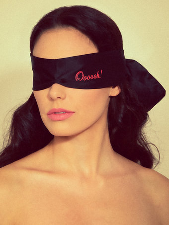 Bijoux Shhh Luxury Blindfold With Sexy Messages