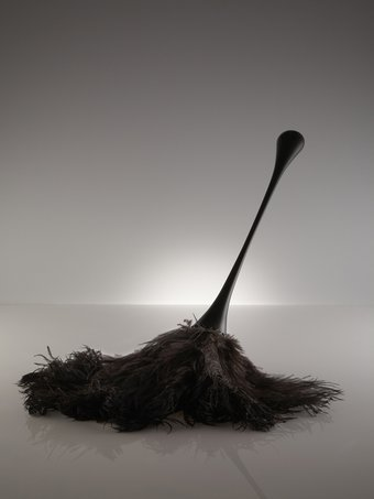 Unfaithful Ostrich Feather Duster by Nika Zupanc