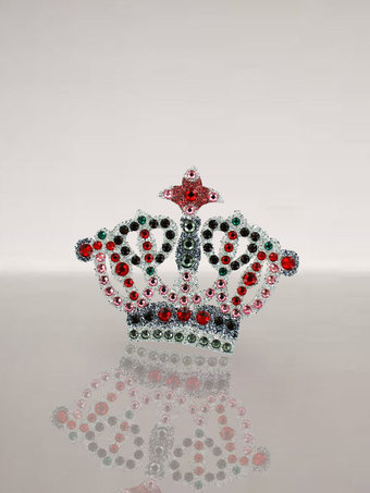 J Maskrey Crown Merkin Swarovski Crystal Body Jewellery