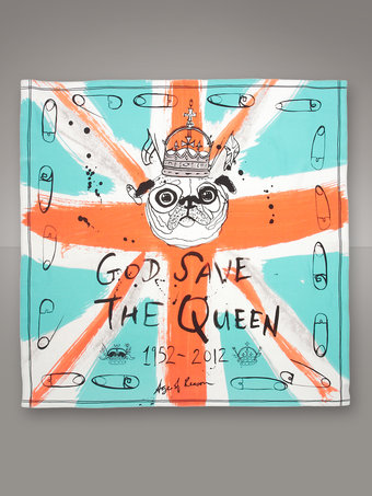 Age of Reason God Save the Queen Jubilee Scarf