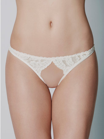 Loveday London Arielle Ouvert Thong
