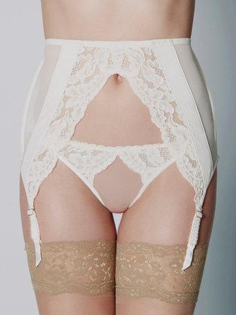 Loveday London Arielle Suspender Belt