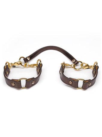 Fräulein Kink Leather Handcuffs