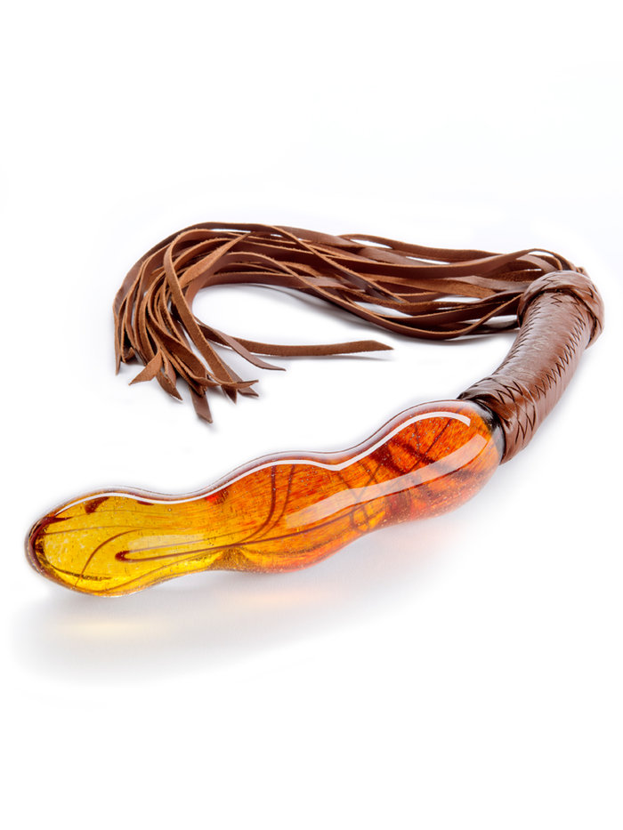 AHH Fornicouture Fuji Glass Dildo With Whip