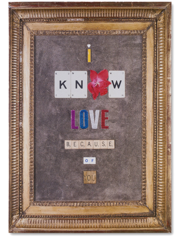 I Know Love Because Of You Greeting Card