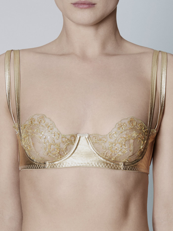 Loveday London Goddess Demi Cup Bra