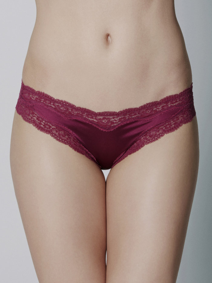 Stella McCartney Clara Whispering Thong Purple