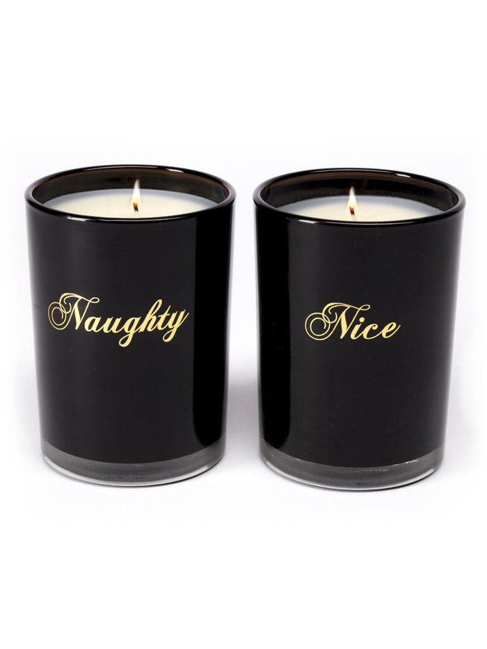 D.L&Co Naughty and Nice Candle Set