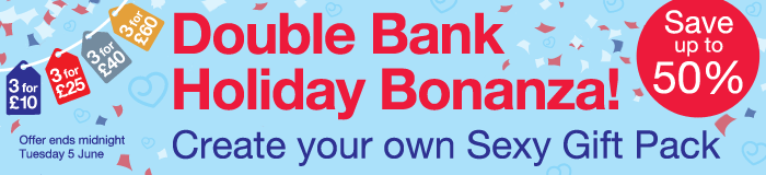 Lovehoney Double Bank Holiday Bonanza!