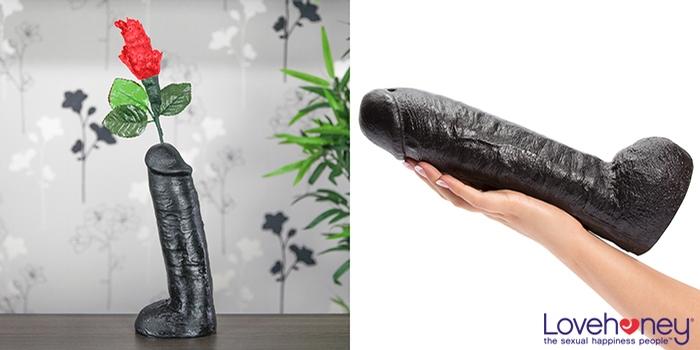 Dildo flower vase