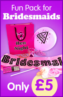 Hen Night Goody Bag Bridesmaids