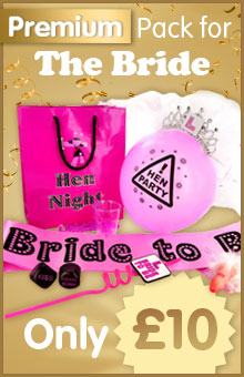 Hen Night Goody Bag Bride to Be Pack