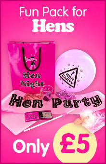 Hen Night Goody Bag Hen Party Fun Pack