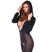 Fetish Fantasy Lingerie Prowler Crotchless Bodystocking