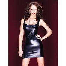 Coquette Darque Wet Look Tank Top Dress