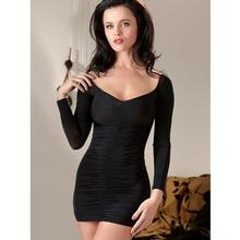 Cottelli Long Sleeved Sexy Mini Dress