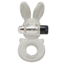 Stretchy Vibrating Rabbit Cock Ring