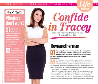 Lovehoney Rock Box in Tracey Cox Closer Column