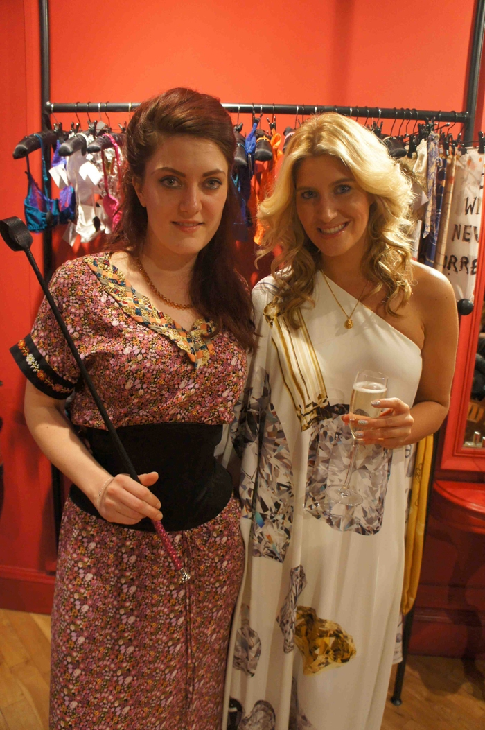 Allison England from Coco de Mer and Cheska Hull from Made in Chelsea