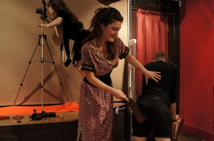 Allison England Spanking Salon at Coco de Mer