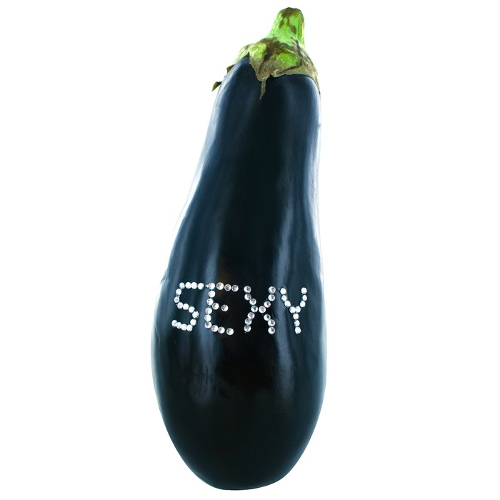 Sexy Vegetable Aubergine Vegazzling