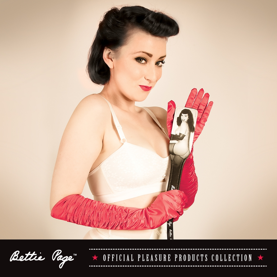Introducing the Bettie Page Official Pleasure Products Collection