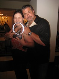 Bonny with Sliquid Founder Dean Elliot