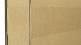 Boxes are double-sealed with strong packing tape