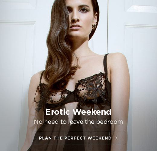 Erotic weekend planned? No need to leave the bedroom with our selection of naughty products