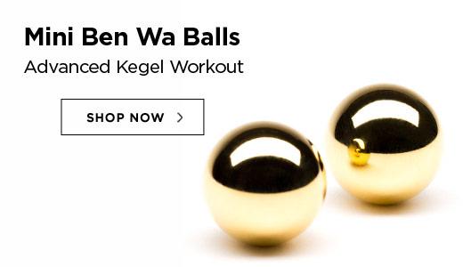 Mini Ben Wa Balls - Advanced Kegel Workout