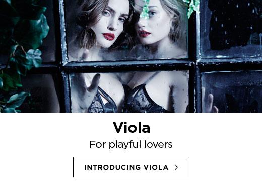 Coco de Mer AW16 Lingerie: Introducing Viola