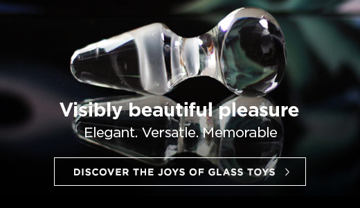 Visibly beautiful pleasure. Discover the joys of glass toys