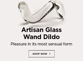 Artisan Glass Wand Dildo