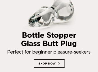Bottle Stopper Glass Butt Plug