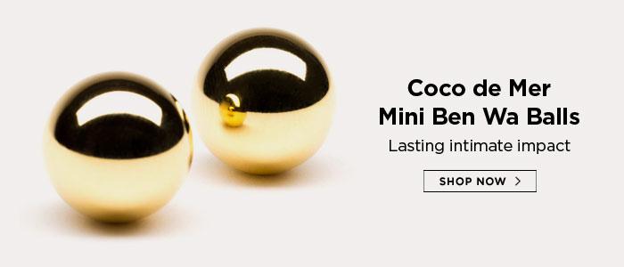 Coco de Mer Mini Ben Wa Balls