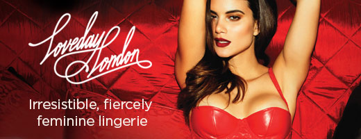 Loveday London: Irresistible, fiercely feminine lingerie