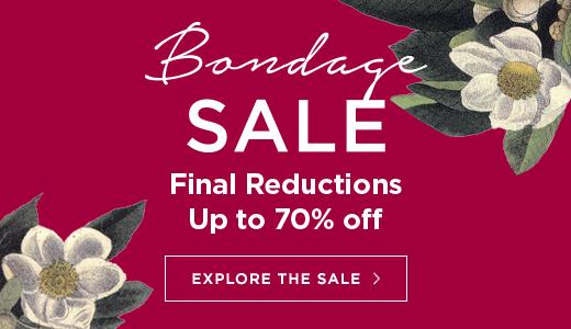 Bondage sale final reductions, now 70% off