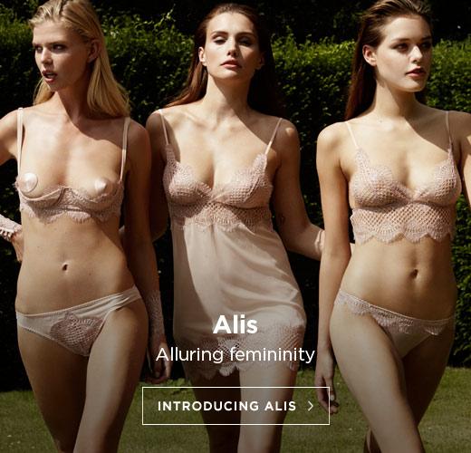 Coco de Mer SS16 Lingerie: Introducing Alis
