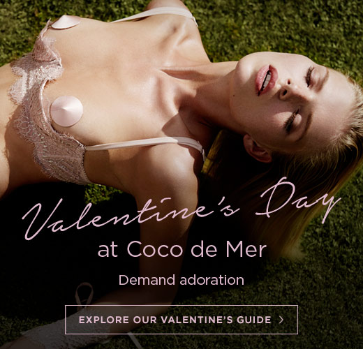 Valentine's Day at Coco de Mer: Demand adoration