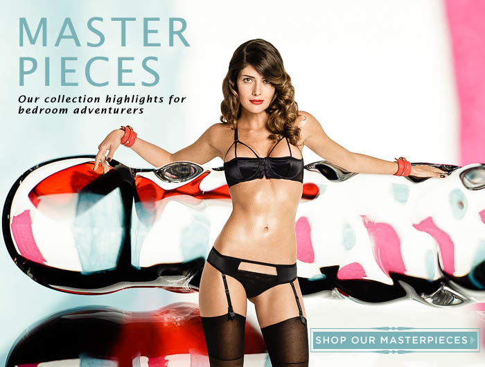 Coco de Mer - Master Pieces, Luxury Lingerie for Adventurers