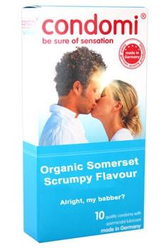 Condomi - The Only Condom in Scrumpy Cider Flavour