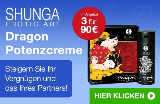 Shunga Erotic Art Dragon Potenzcreme