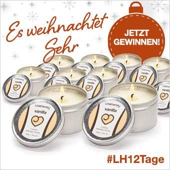 LH12Tage gewinne eine Massagekerze mit Vanille