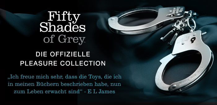 Fifty Shades of Grey Die Offizielle Pleasure Collection