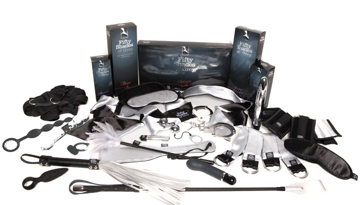 The Official Fifty Shades Pleasure Products Collection at Lovehoney