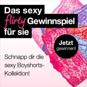 Das sexy Flirty Boyshorts Gewinnspiel von Lovehoney