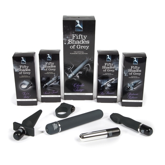 Introducing five new items to the Fifty Shades range
