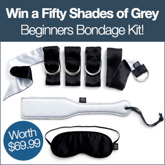 Win a Fifty Shades of Grey Beginners Bondage Kit